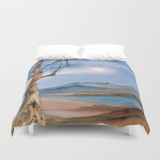 Track 21: One Tree Hill Duvet Cover