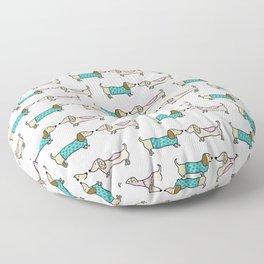 Dachshunds lovers Floor Pillow