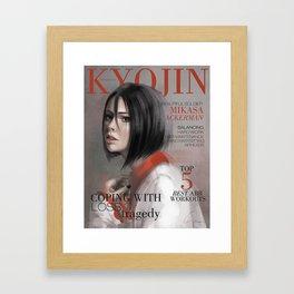 SnK Magazine: Mik Framed Art Print
