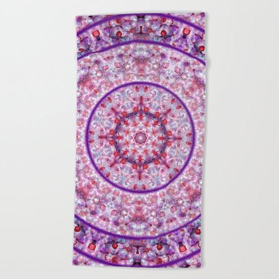 Compass Point Kaleidoscope 2 Beach Towel