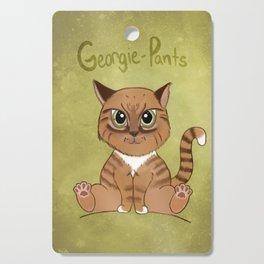 Georgie-Pants Cutting Board