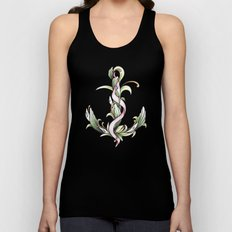 Anchor (color) Unisex Tank Top