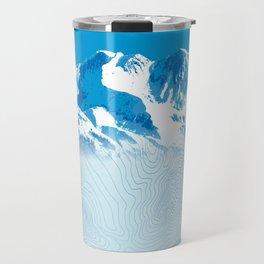 Mt. Alyeska Alaska Travel Mug