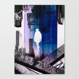 The time Traveller Canvas Print