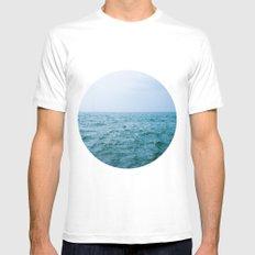 Nautical Porthole Study No.3 Mens Fitted Tee White MEDIUM