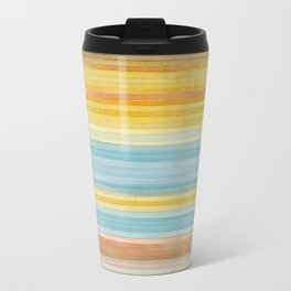 Colorbands Yellowstone Yellow Metal Travel Mug