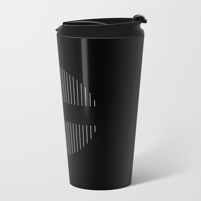 Hemisphere Metal Travel Mug