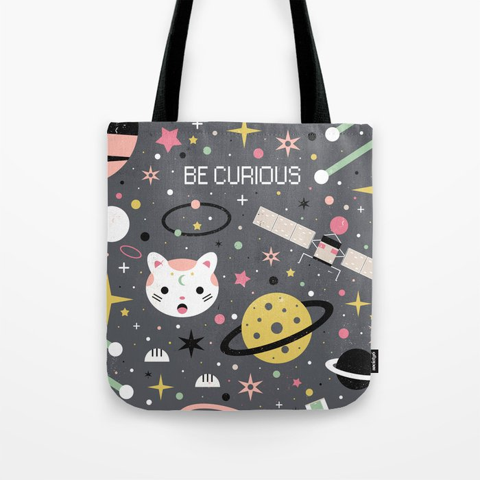Be Curious  Tote Bag