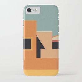 Summer Urban Landscape iPhone Case