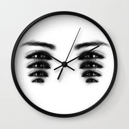wild open Wall Clock