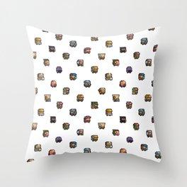 Dwarf Fortress Sprites by Spacefox Throw Pillow