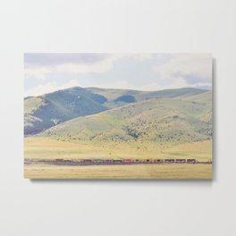Four O'Clock Train Metal Print