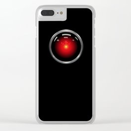 stanley kubrick, hal 9000 Clear iPhone Case