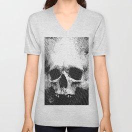 Engraving Skull Unisex V-Neck
