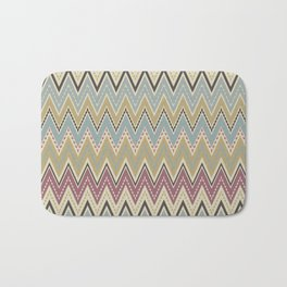 Ethnic patterns. Tribal pattern . Bath Mat