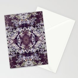 Mirrored Lichen Stationery Cards