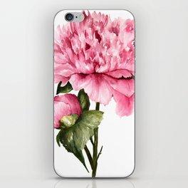 Peony III iPhone Skin