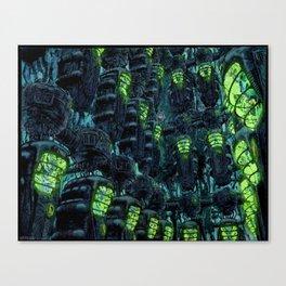 Kronos Colony Ark. Progeny Cocoons Canvas Print