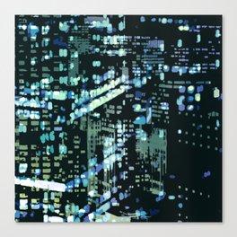 City Never Sleeps 2 Canvas Print