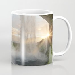 Seljalandsfoss Dawn Coffee Mug