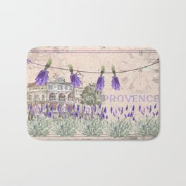 Provence France - my love  - Lavender and Summer Badematte