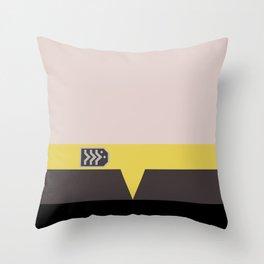 Miles O'Brien - Minimalist Star Trek DS9 Deep Space Nine - Chief  - startrek - Trektangles - Square Throw Pillow
