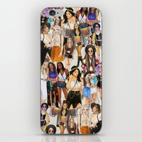 coachella iPhone & iPod Skins featuring Coachella Girls by Sara Eshak