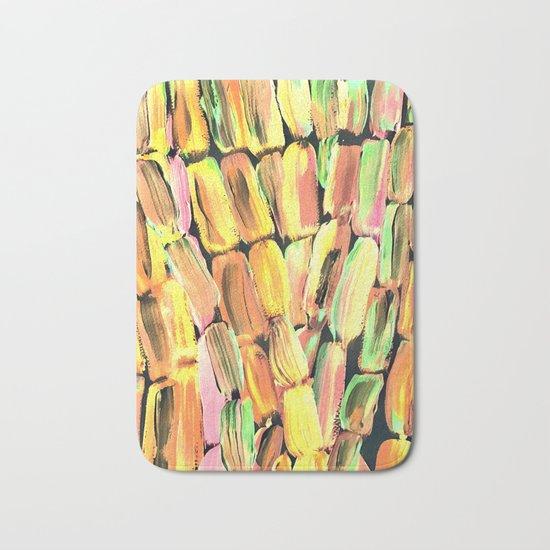 Golden Sweet Yellow Sugarcane Bath Mat