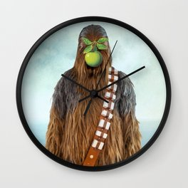 Chewbacca in The Son of A Man Wall Clock