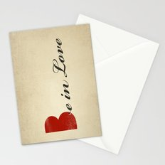 BE IN LOVE Stationery Cards