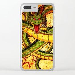 dragon shealong Clear iPhone Case