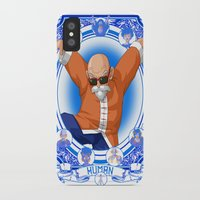 dragonball iPhone & iPod Cases featuring DragonBall Z - Human House by Art of Mike