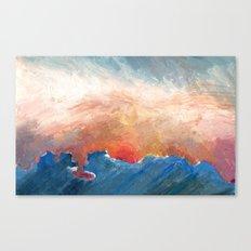 Sunset Impressionist  Canvas Print