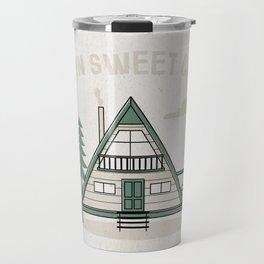 Cabin Sweet Cabin Travel Mug