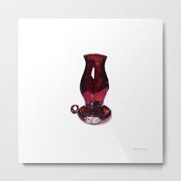 Hurricane Lantern Metal Print