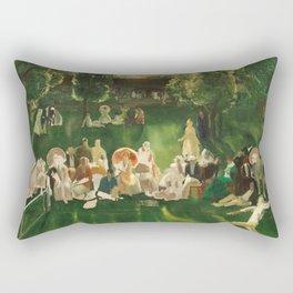 George Bellows - Tennis Tournament, 1920 Rectangular Pillow