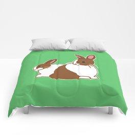 Chocolate Dutch Rabbits Comforters
