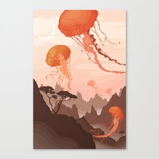 Eclipse Canvas Print