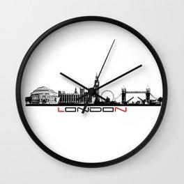 London skyline city #london Wall Clock