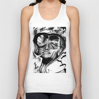 fear and loathing Tank Tops featuring Fear and Loathing by Tufty Cookie