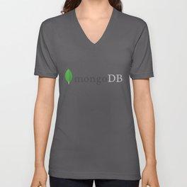 Mongo Db (Mongodb) Unisex V-Neck