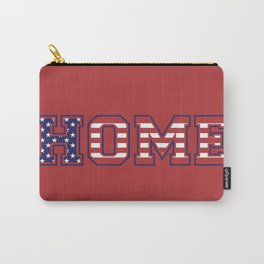 USA HOME, red version Carry-All Pouch
