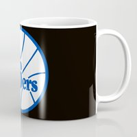 nba Mugs featuring NBA - 76ers by Katieb1013