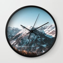 Mountains of Austria Wall Clock