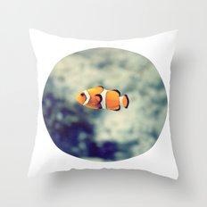 Clownfish Throw Pillow