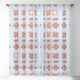 Math symbols Sheer Curtain