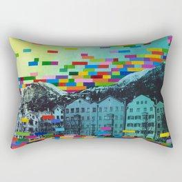 We are Here (Innsbruck) Rectangular Pillow