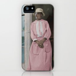 Sharecropper's Wife 1936 iPhone Case