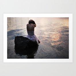 Lost At Sea I Art Print