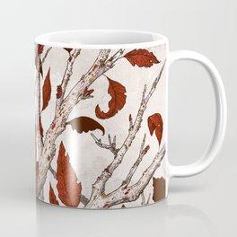 A Raven In Winter Coffee Mug